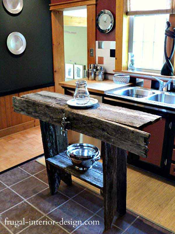 Source & 32 Super Neat and Inexpensive Rustic Kitchen Islands to Materialize