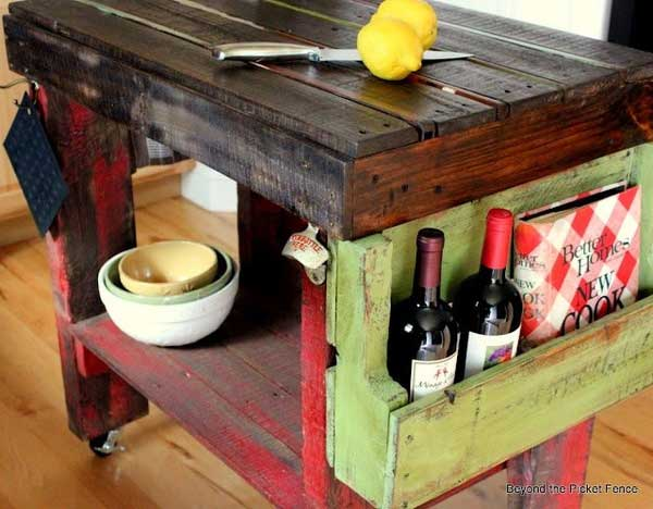 32 Super Neat and Inexpensive Rustic Kitchen Islands to Materialize  homesthetics decor (23)
