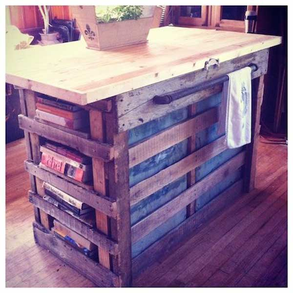 32 Super Neat and Inexpensive Rustic Kitchen Islands to Materialize homesthetics decor (24) & 32 Super Neat and Inexpensive Rustic Kitchen Islands to Materialize