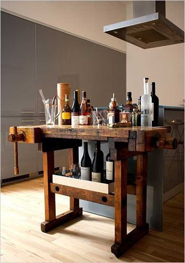 32 Super Neat and Inexpensive Rustic Kitchen Islands to Materialize  homesthetics decor (25)