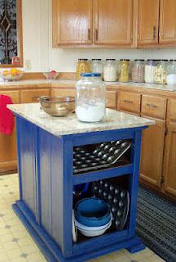 32 Super Neat and Inexpensive Rustic Kitchen Isles to Materialize  homesthetics decor (31)