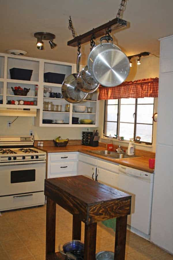 32 Super Neat And Inexpensive Rustic Kitchen Islands To Materialize  Homesthetics Decor (5)