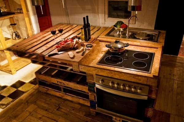 32 Super Neat and Inexpensive Rustic Kitchen Islands to Materialize  homesthetics decor (7)
