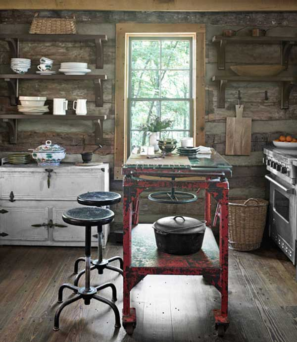 32 Super Neat And Inexpensive Rustic Kitchen Islands To Materialize  Homesthetics Decor (8)