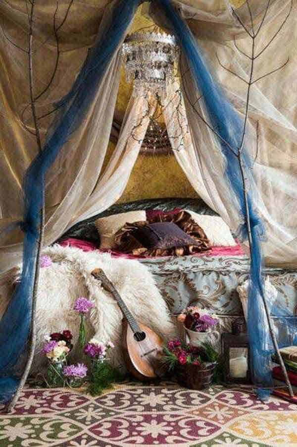 35 Mesmerizing Boho-Chic Interiors Infused With Love homesthetics decor (14)
