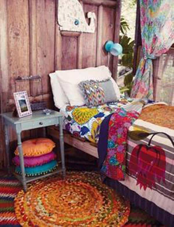 35 Mesmerizing Boho-Chic Interiors Infused With Love homesthetics decor (15)