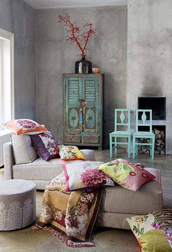 35 Mesmerizing Boho-Chic Interiors Infused With Love homesthetics decor (18)