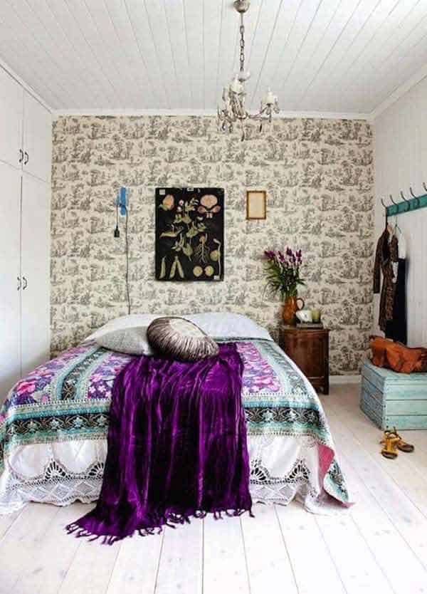 35 Mesmerizing Boho-Chic Interiors Infused With Love homesthetics decor (24)