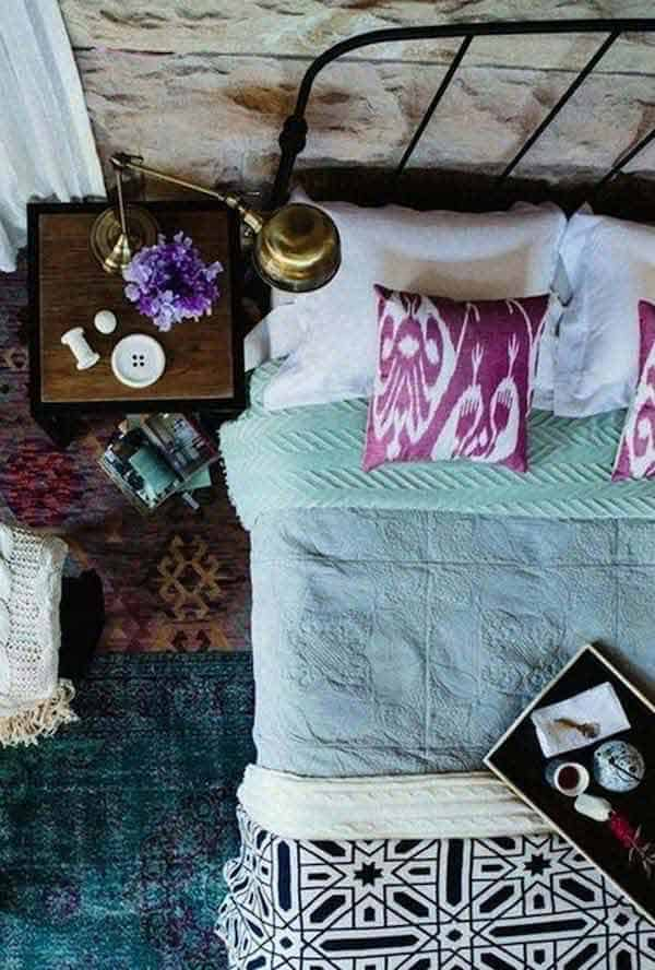 35 Mesmerizing Boho-Chic Interiors Infused With Love homesthetics decor (3)