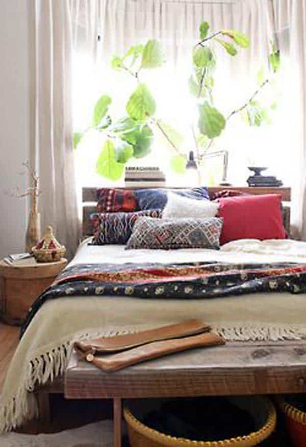 35 Mesmerizing Boho-Chic Interiors Infused With Love homesthetics decor (4)