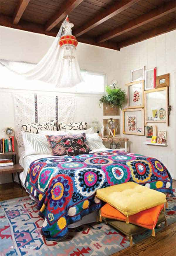 35 Mesmerizing Boho-Chic Interiors Infused With Love homesthetics decor (8)