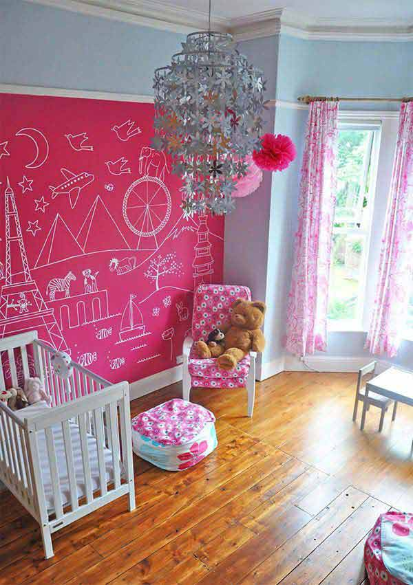 36 Examples That Will Teach You How to Decorate With Colored Chalkboard homesthetics decor (1)