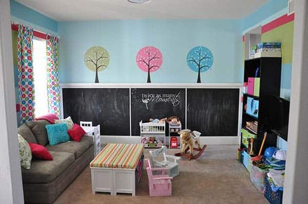 36 Examples That Will Teach You How to Decorate With Colored Chalkboard homesthetics decor (11)