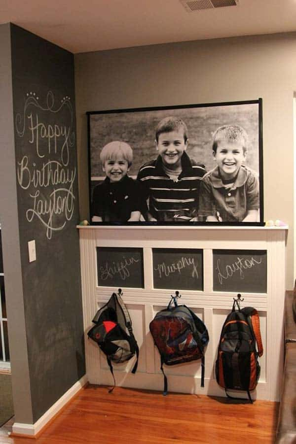 36 Examples That Will Teach You How to Decorate With Colored Chalkboard homesthetics decor (12)