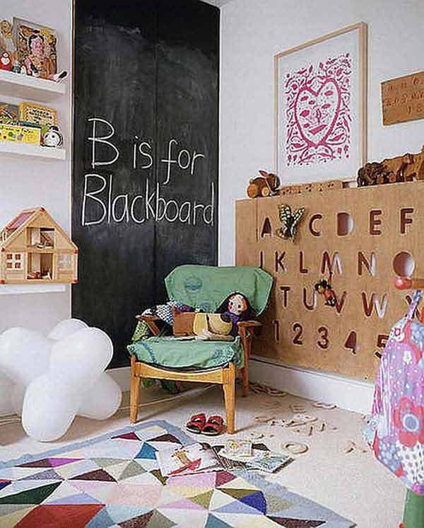 36 Examples That Will Teach You How to Decorate With Colored Chalkboard homesthetics decor (14)