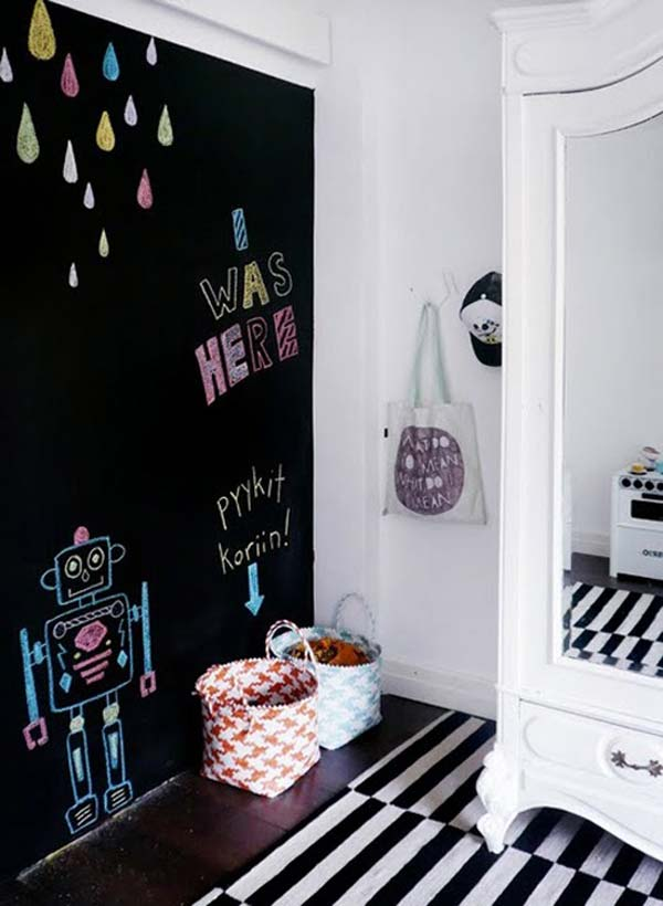 36 Examples That Will Teach You How to Decorate With Colored Chalkboard homesthetics decor (15)