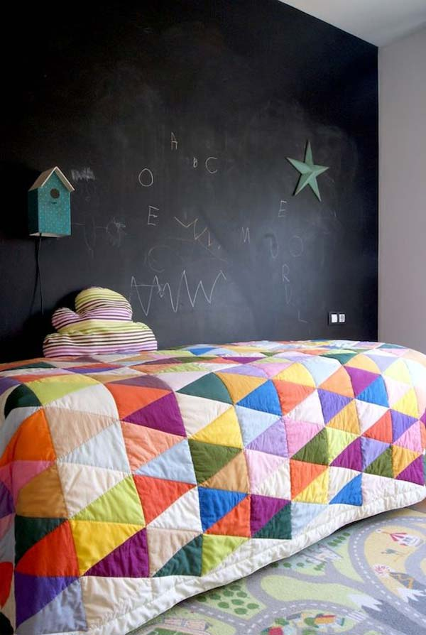 36 Examples That Will Teach You How to Decorate With Colored Chalkboard homesthetics decor (19)