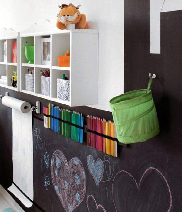 36 Examples That Will Teach You How to Decorate With Colored Chalkboard homesthetics decor (2)