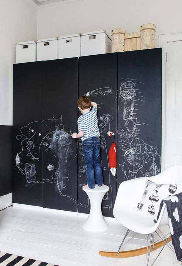 36 Examples That Will Teach You How to Decorate With Colored Chalkboard homesthetics decor (20)