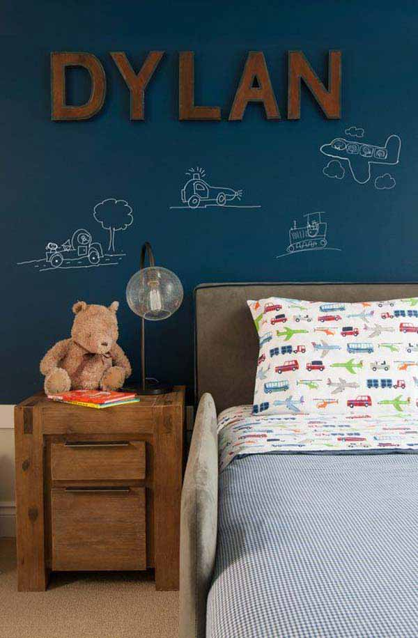 36 Examples That Will Teach You How to Decorate With Colored Chalkboard homesthetics decor (26)