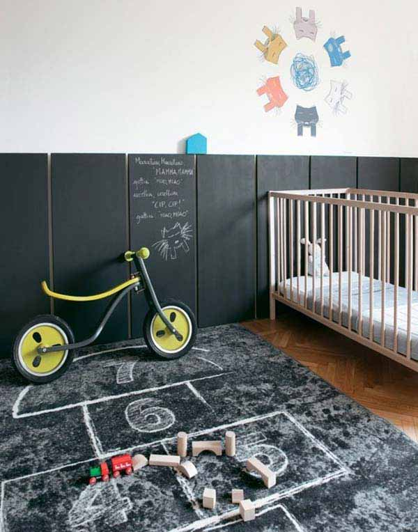 36 Examples That Will Teach You How to Decorate With Colored Chalkboard homesthetics decor (27)