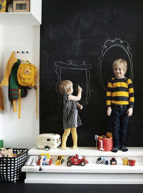 36 Examples That Will Teach You How to Decorate With Colored Chalkboard homesthetics decor (28)
