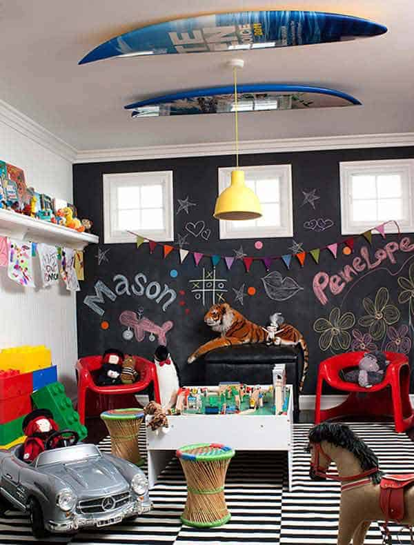 36 Examples That Will Teach You How to Decorate With Colored Chalkboard homesthetics decor (3)