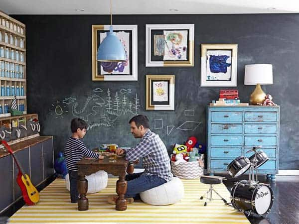 36 Examples That Will Teach You How to Decorate With Colored Chalkboard homesthetics decor (30)