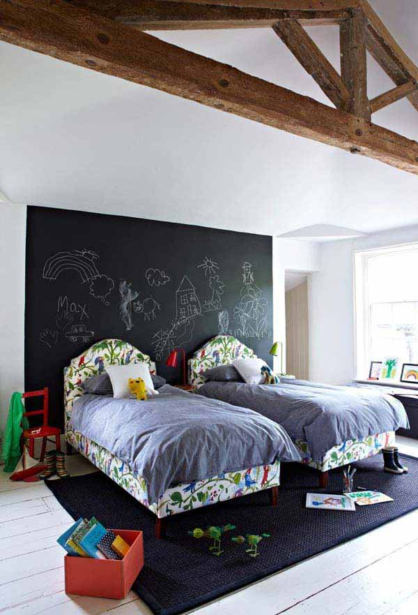 36 Examples That Will Teach You How to Decorate With Colored Chalkboard homesthetics decor (31)