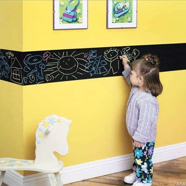 36 Examples That Will Teach You How to Decorate With Colored Chalkboard homesthetics decor (33)