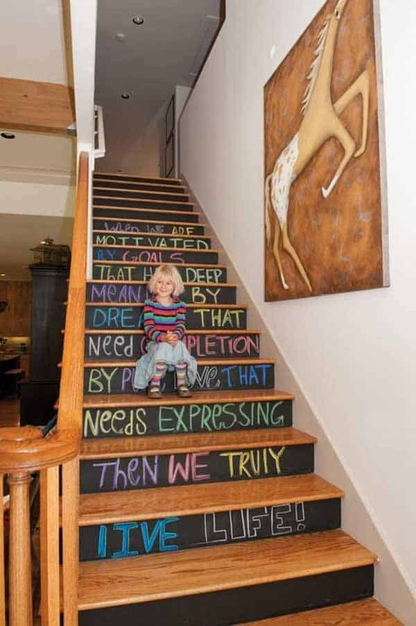36 Examples That Will Teach You How to Decorate With Colored Chalkboard homesthetics decor (37)