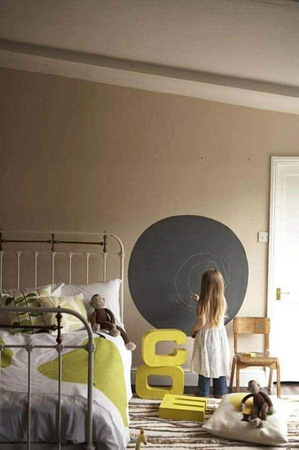 36 Examples That Will Teach You How to Decorate With Colored Chalkboard homesthetics decor (4)