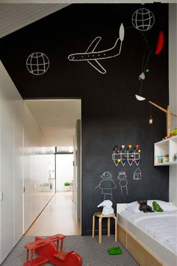 36 Examples That Will Teach You How to Decorate With Colored Chalkboard homesthetics decor (6)