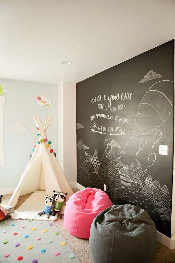 36 Examples That Will Teach You How to Decorate With Colored Chalkboard homesthetics decor (7)