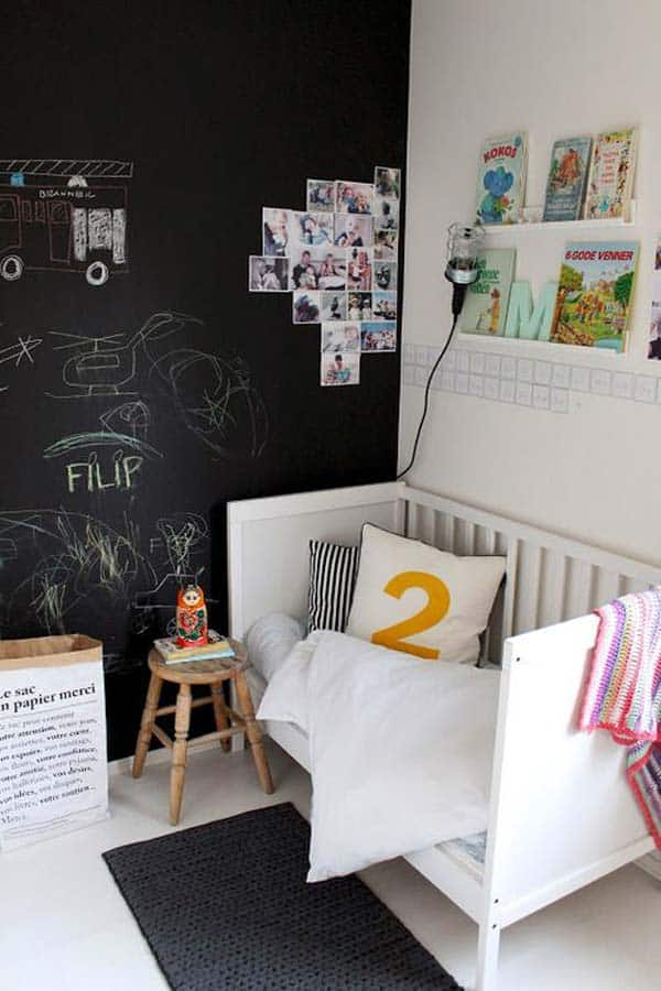 36 Examples That Will Teach You How to Decorate With Colored Chalkboard homesthetics decor (9)