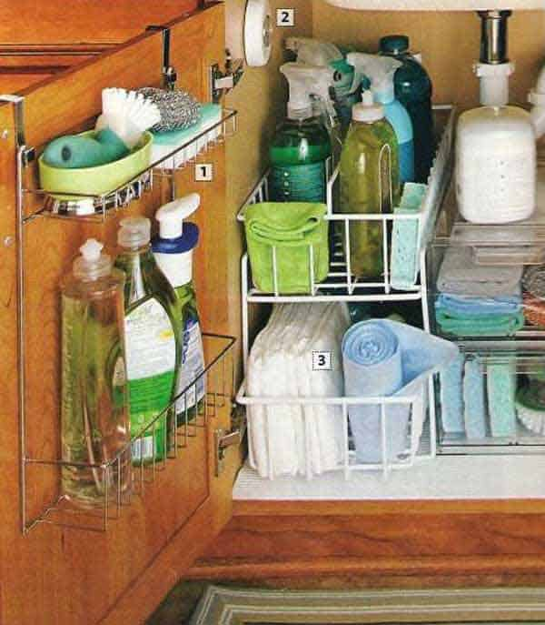 #10 NESTLE STORAGE UNDER THE KITCHEN SINK