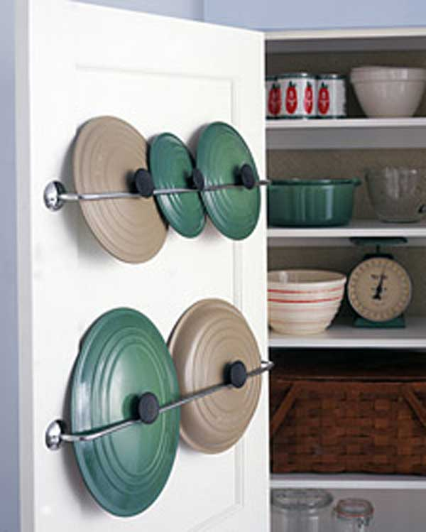 #33 TOWEL RACKS CAN BE USED AS LID STORAGE