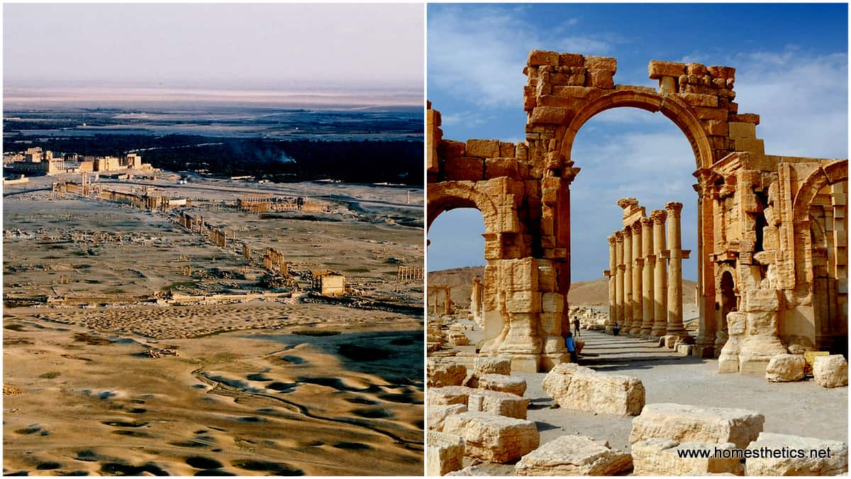 The Heritage Of An Ancient World Great Merchant City Palmyra