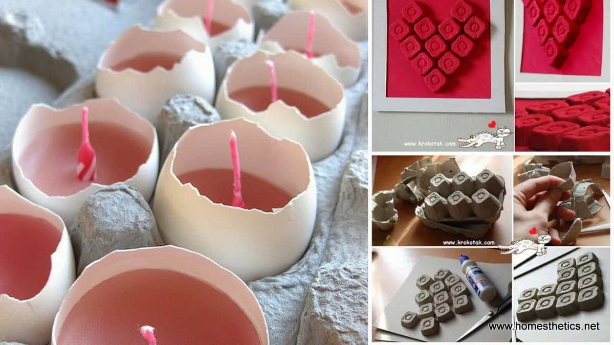 16 Creative Recycling Egg Cartons Ideas