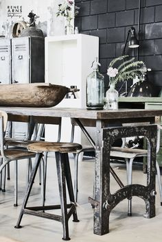 How To Create A Rustic Industrial Design Line In Your Home-homesthetics (10)