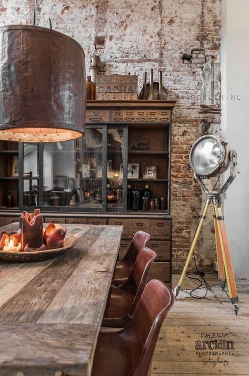How To Create A Rustic Industrial Design Line In Your Home Homesthetics (18)