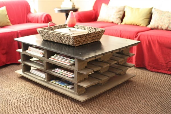 Learn How To Make Useful Furniture From Wooden Pallets With These 24 Fabulous Ideas homesthetics decor (1)