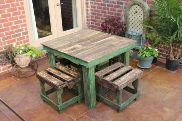 Learn How To Make Useful Furniture From Wooden Pallets With These 24 Fabulous Ideas homesthetics decor (14)