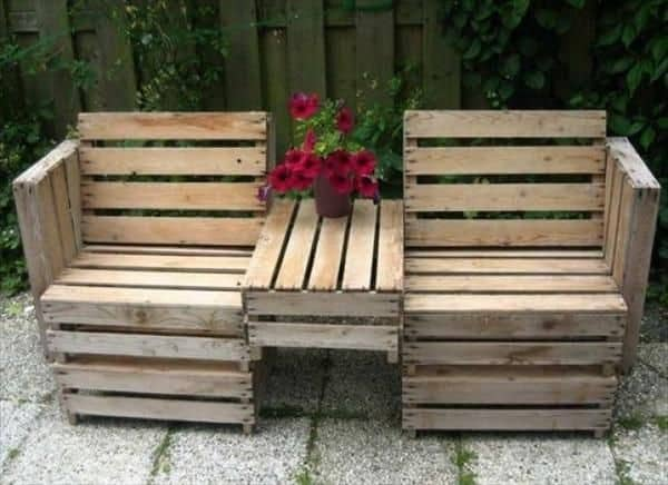 Learn How To Make Useful Furniture From Wooden Pallets With These 24 Fabulous Ideas homesthetics decor (19)