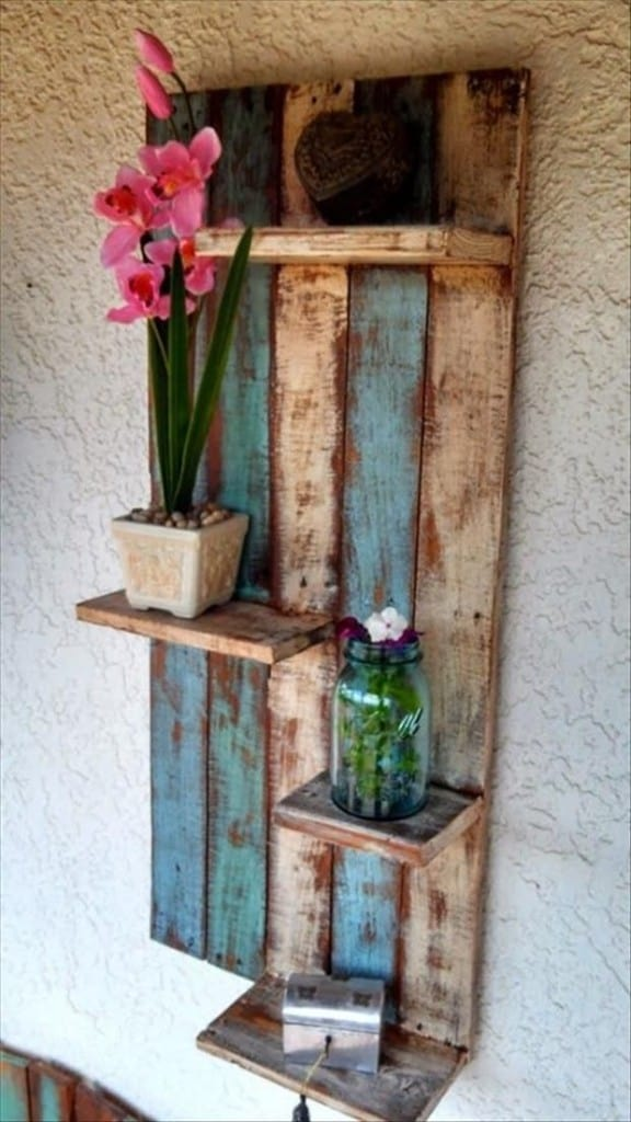 Learn How To Make Useful Furniture From Wooden Pallets With These 24 Fabulous Ideas homesthetics decor (2)