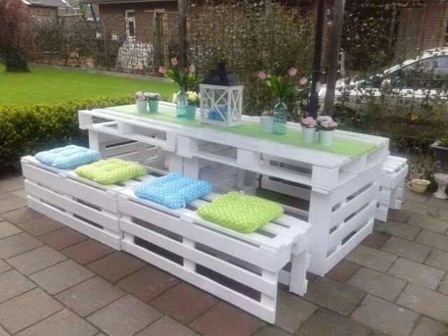 Learn How To Make Useful Furniture From Wooden Pallets With These 24 Fabulous Ideas homesthetics decor (21)