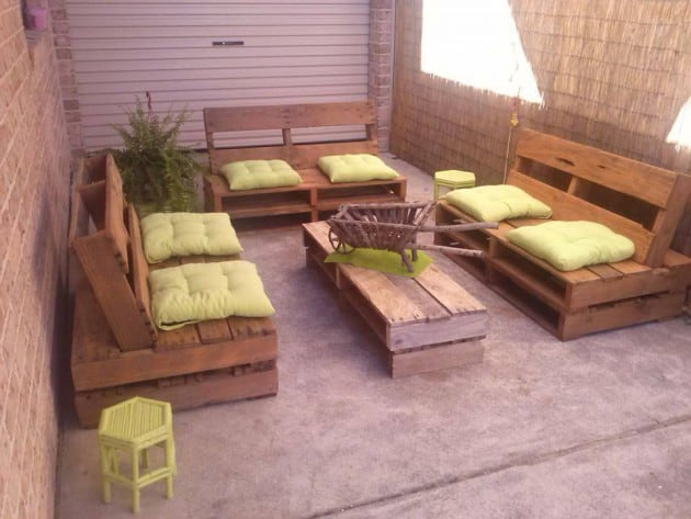 Learn How To Make Useful Furniture From Wooden Pallets With These 24 Fabulous Ideas homesthetics decor (8)
