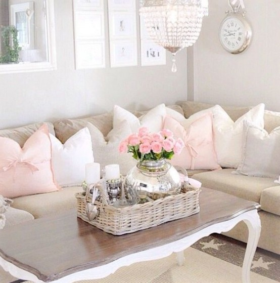 Top 20 Dreamy Shabby Chic Living Room Designs Homesthetics (2)
