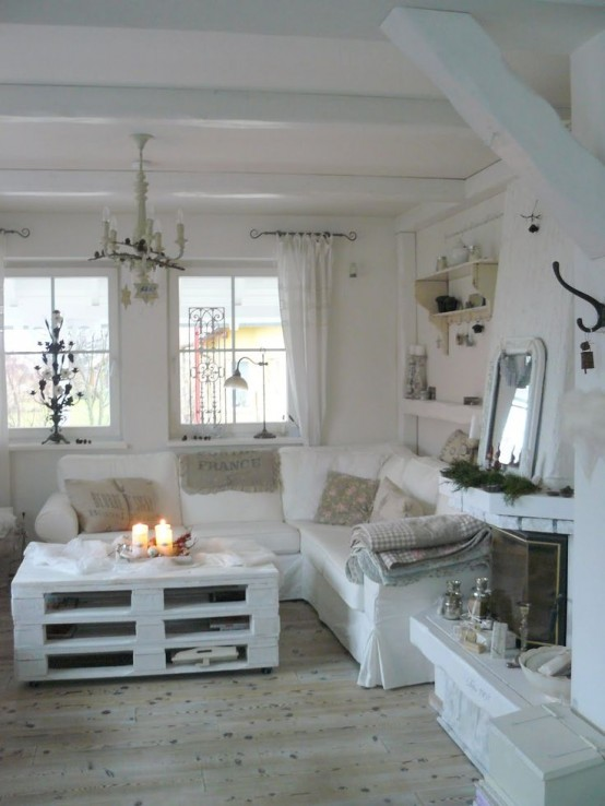 Top 20 Dreamy Shabby Chic Living Room Designs Homesthetics (3)