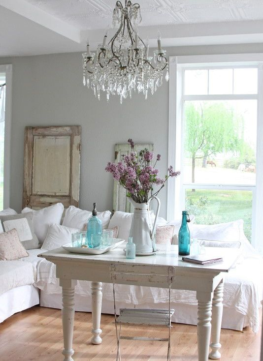 Top 20 Dreamy Shabby Chic Living Room Designs Homesthetics (4)